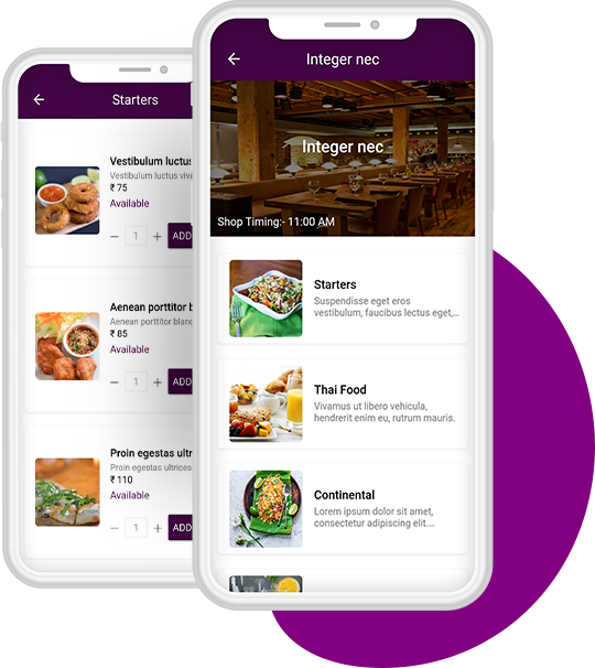 Food Delivery Customer App