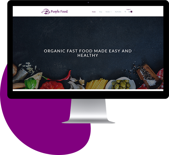 On Demand Food Delivery App Front End Website