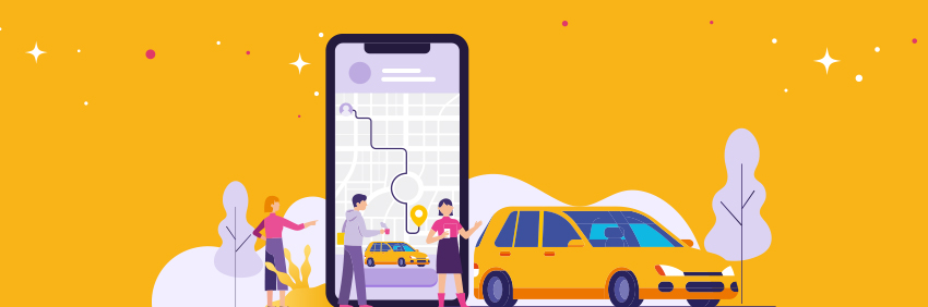 On-Demand Taxi Booking App Solutions