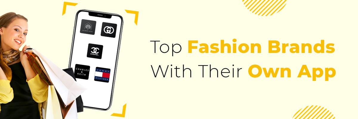 own fashion brand app