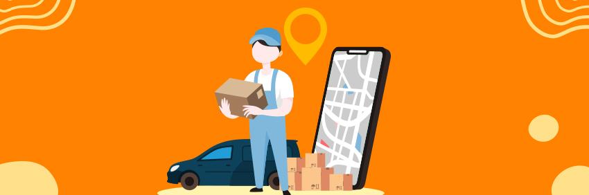 Pick Up & Drop off Courier App
