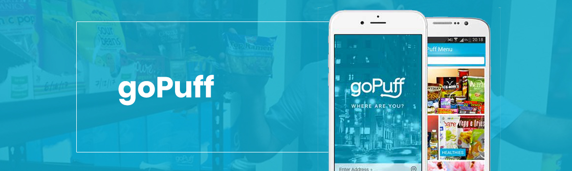 GoPuff Food Delivery App