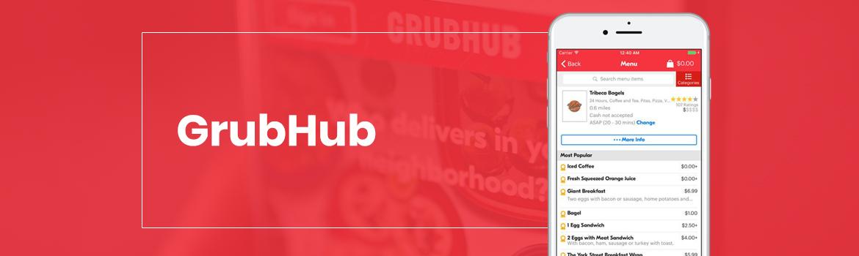 Grubhub Food Delivery App