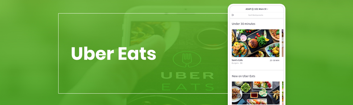 UberEats Food Delivery app