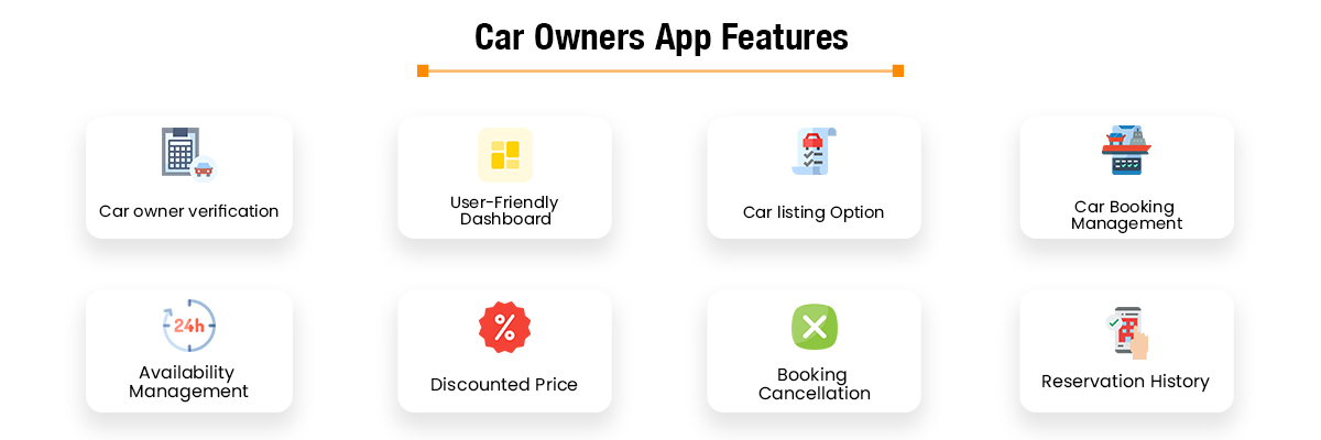 Car Owners App Features