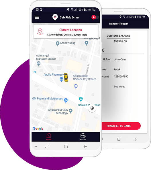 Driver App android ios