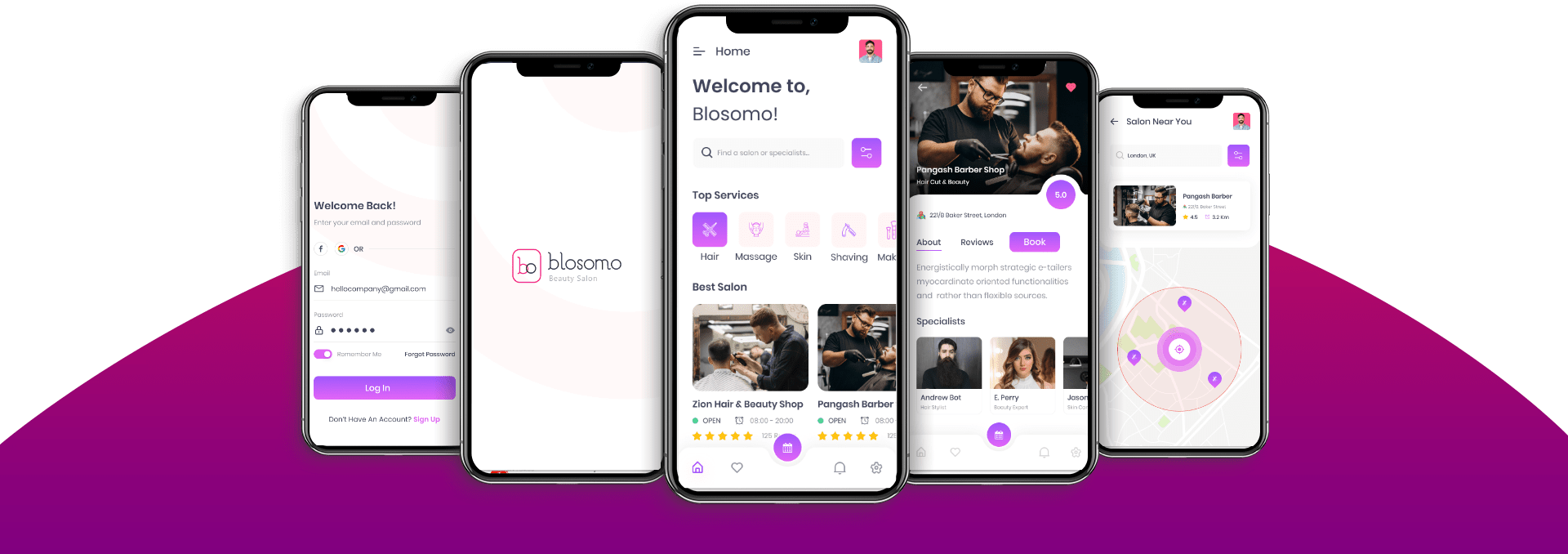 Salon Appointment Booking App Features