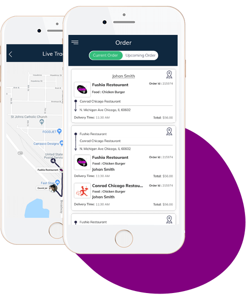 Delivery Drivers app