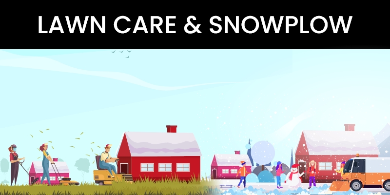 On-Demand Lawn Care & Snow Plow Service