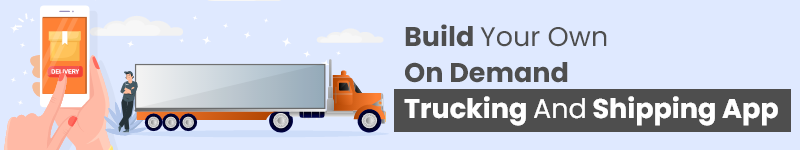 build on demand trucking services app