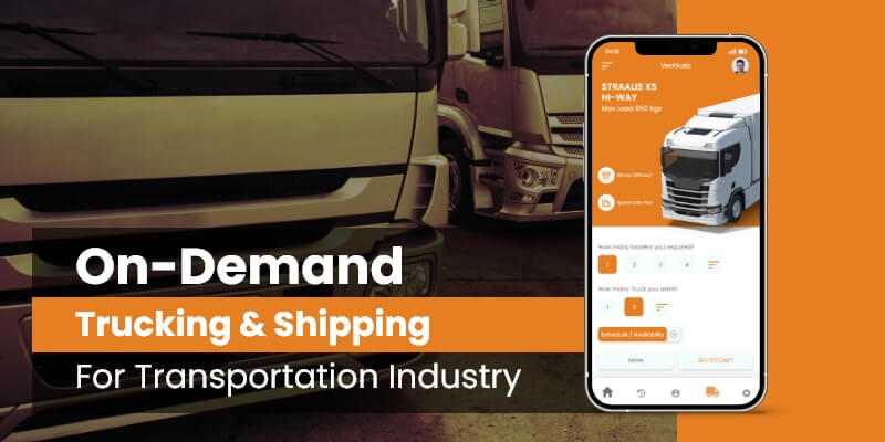 on-demand trucking and shipping